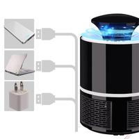 Electronic Mosquito Killer Photocatalyst Light Bug Insect Catcher USB Power Non radiation Mosquito Trap With Suction Fan|Repellents| |  -