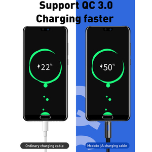 Image 4 - 10Pcs/lot Mcdodo Micro USB Cable 2A For Samsung Galaxy S9 Plus Huawei QC3.0 Fast Charging Auto Disconnect USB Charger Data Cable