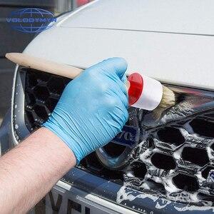 Image 5 - Detalhando escova conjunto 5 escovas dos pces para a ferramenta de limpeza interior exterior do carro