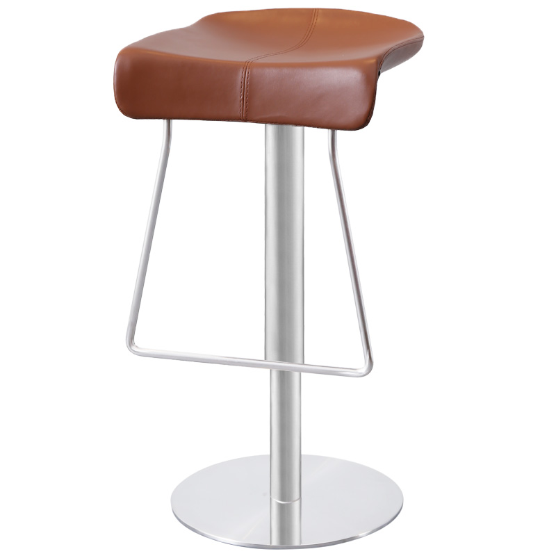 Nordic Modern Simple Bar Chair Lift High Bar Chair Light Luxury Bar Chair Bar Stainless Steel High Stool Household