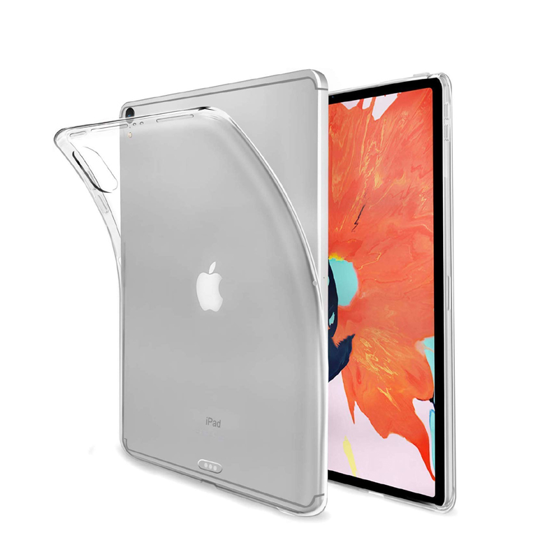 Back Case For IPad 10.2 9.7 2018 2017 2 3 4 Cover For Air 2 1,TPU Soft For IPad Pro 10.5 10,Crystal Protector For Mini 4 5 3 2 1