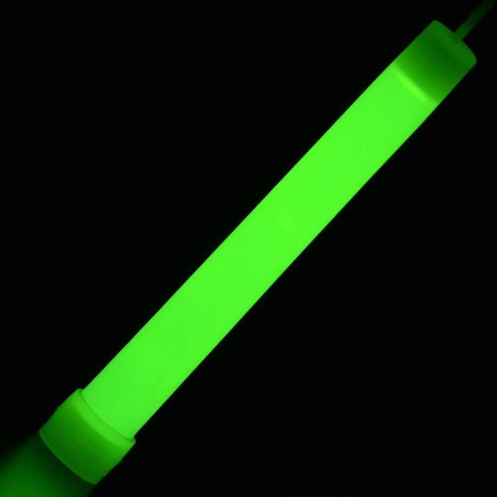 6-Polegada varas de luz led varinhas de plástico rally rave cheer batons festa piscando fulgor vara com gancho para acampar