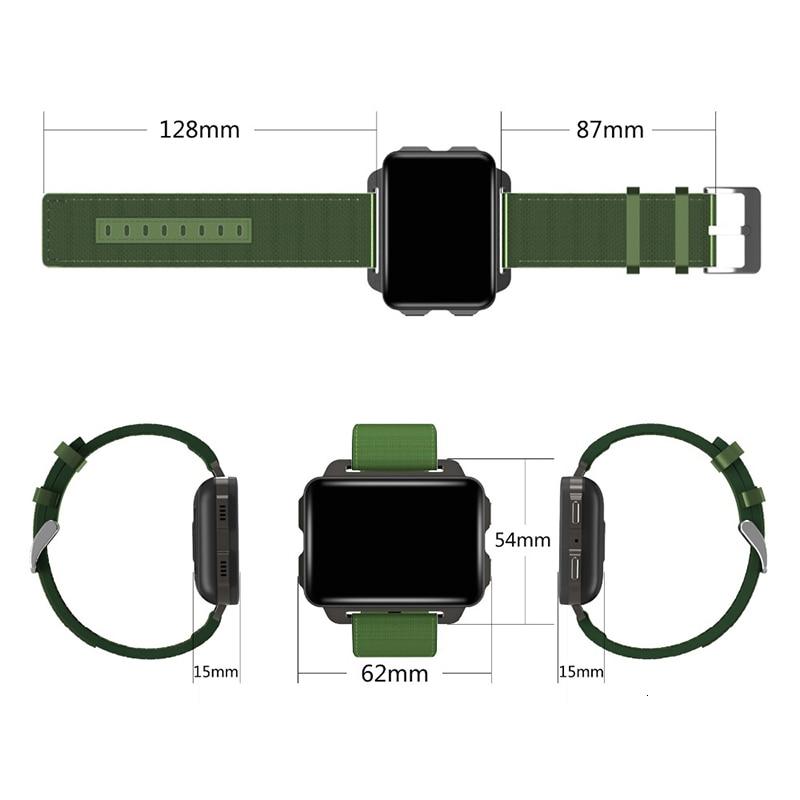 GPS wifi Bluetooth android 3G smartphone Smartband smartwatch 1GB RAM 16GB ROM mini petit téléphone portable Quad core Fitness tracker - 6