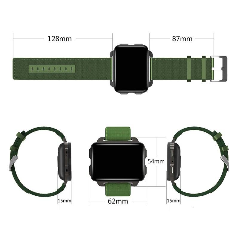 Gps wifi Bluetooth android 3g смартфон Smartband smartwatch 1 ГБ ОЗУ 16 Гб ПЗУ мини маленький мобильный телефон Quad Смарт часы с камерой трекер - 6