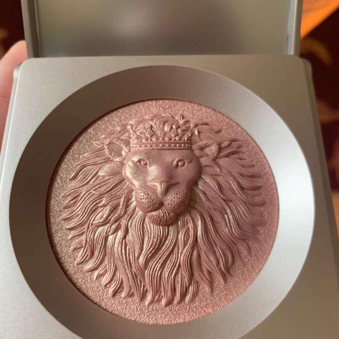 leao diamante highlighter bronzer alto brilho contorno corpo brilho iluminador maquiagem highlighter para o escultor de