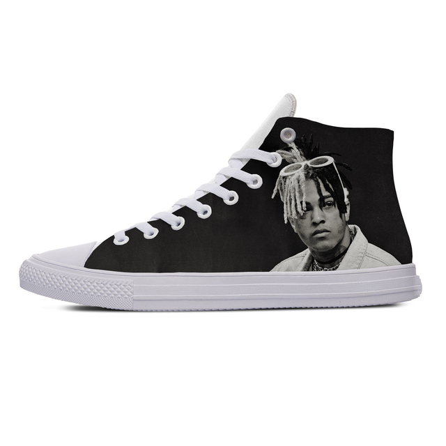 XXXTENTACION THEMED HIGH TOP SHOES (5 VARIAN)