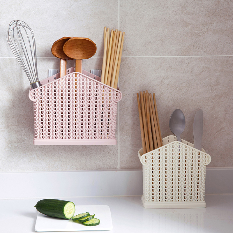 A1 Tableware Chopsticks Leachate Chopsticks Box Rattan Box Knife And Fork Chopsticks Box Spoon Porcelain Drain Holder LU42012