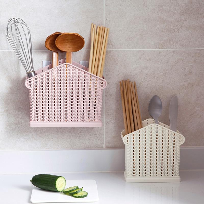 A1 Tableware Chopsticks Leachate Chopsticks Box Rattan Box Knife And Fork Chopsticks Box Spoon Porcelain Drain Holder LU42012