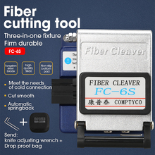 Conector de fibra ótica da cleaver da fibra FC 6S da alta precisão, usado no frete grátis fttx ftth. envie o saco resistente