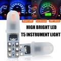 1x новые T5 Led W3W W1.2W лампы салона светильник индикатор приборной панели датчик прибора Клин лампа авто сигнальный светильник 12V белого цвета