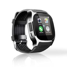 цена на T8 Smart Watch 16G Battery LQ-S1 GPS Camera SIM TF Fitness Tracker Smartwatch Waterproof Heart Rate Monitor  Android IOS Phone