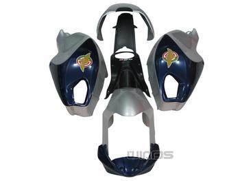 Body Fairing  for Ducati 696 796 795 M1000 M1100 Year 2009 2010 2011 Blue Silver
