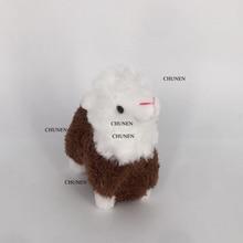 Высота около 9 см Стоячие плюшевые игрушки животных, брелок плюшевые куклы
