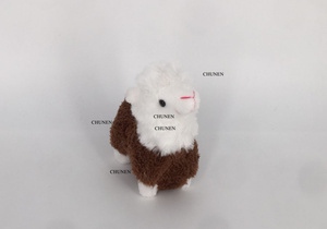 9CM Height Approx. Standing Animal Plush Stuffed Toys , key chain Plush Dolls(China)