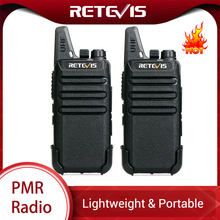 Retevis RT622 RT22 Mini Pmr Walkie Talkie 2 Pcs PMR446 Pmr 446 Radio Frs Vox Vivavoce Woki Toki Coppia di Due -Way Radio Comunicador(China)