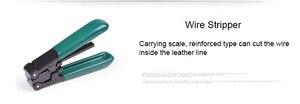 Image 5 - 6 で 1 光ファイバ FTTH ツールキット光ファイバ繊維包丁 FC 6S ミラーのプライヤーストリッパー光パワーメータ 1mW VFL 1 5mw の 5 キロ