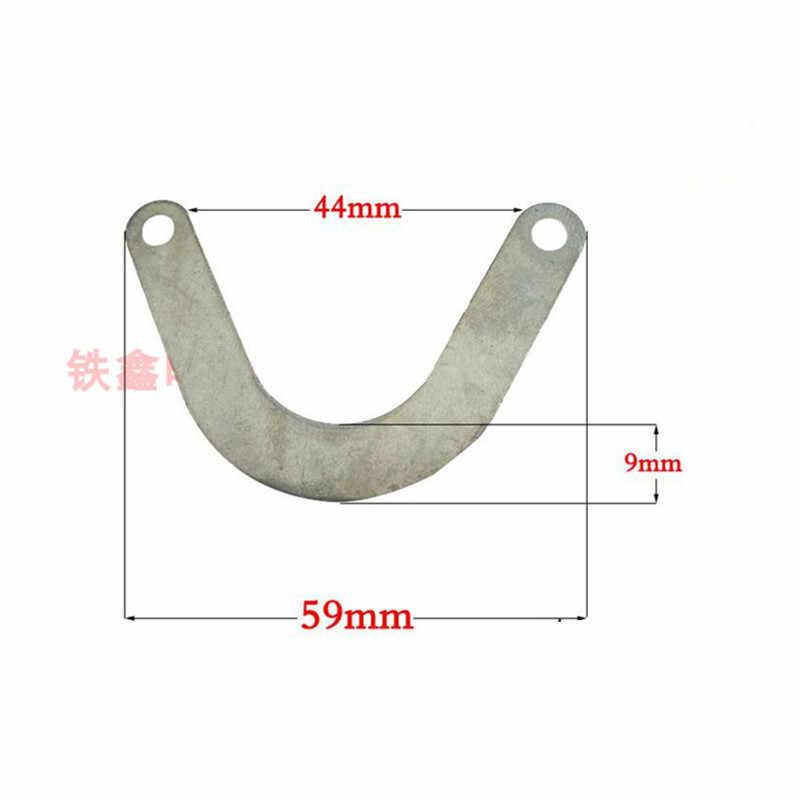 Accessorio per compressore daria a forma di linguetta da 57 mm a forma di linguetta da 5 pezzi