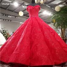LS3392 red pleat evening dress sweetheart lace flowers up back ball gown formal vestido longo de festa real photos