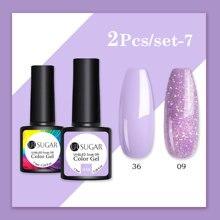 UR SUGAR 7.5ml Glitter Gel Nail Polish Semi Permanent Soak O