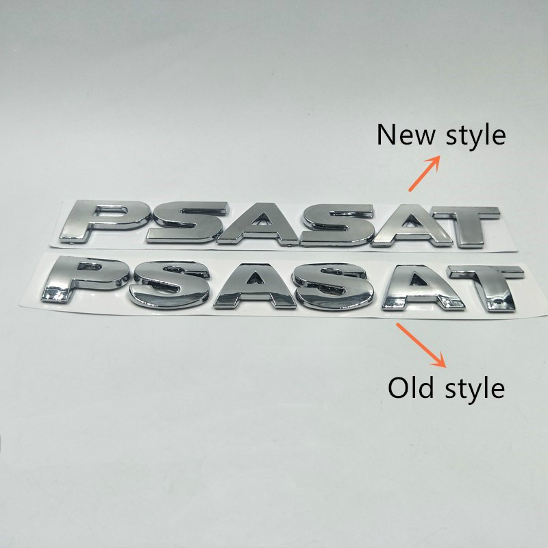 For VW <font><b>Volkswagen</b></font> <font><b>Passat</b></font> <font><b>b5</b></font> b6 b7 Emblem ABS Rear Boot <font><b>Logo</b></font> Trunk Nameplate image