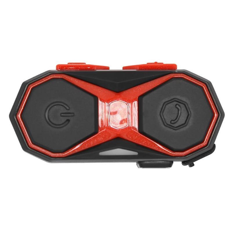WT005 Motorcycle Helmet Headset Waterproof Bluetooth FM Radio Music Interphone Full Duplex Interview At 1000 M Distance