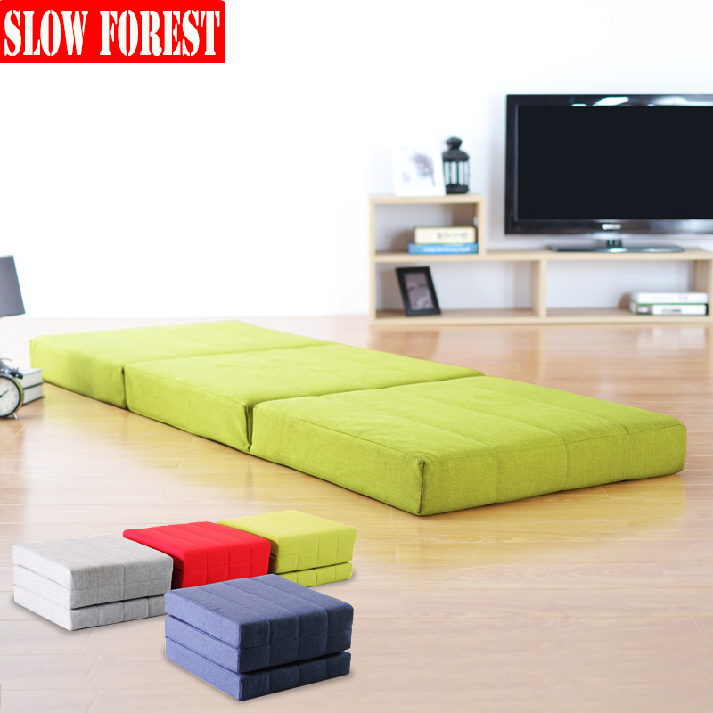 Floor Tatami Mattress Folding Lunch Break Couch Bed Lazy Sofa for Living Room Office Nap Lounge Couch 1