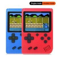 2021 nueva 400 en 1 portátiles consola de juegos Retro juego de mano por los jugadores niño 8 poco Gameboy 3,0 pulgadas LCD pantalla soporte TV