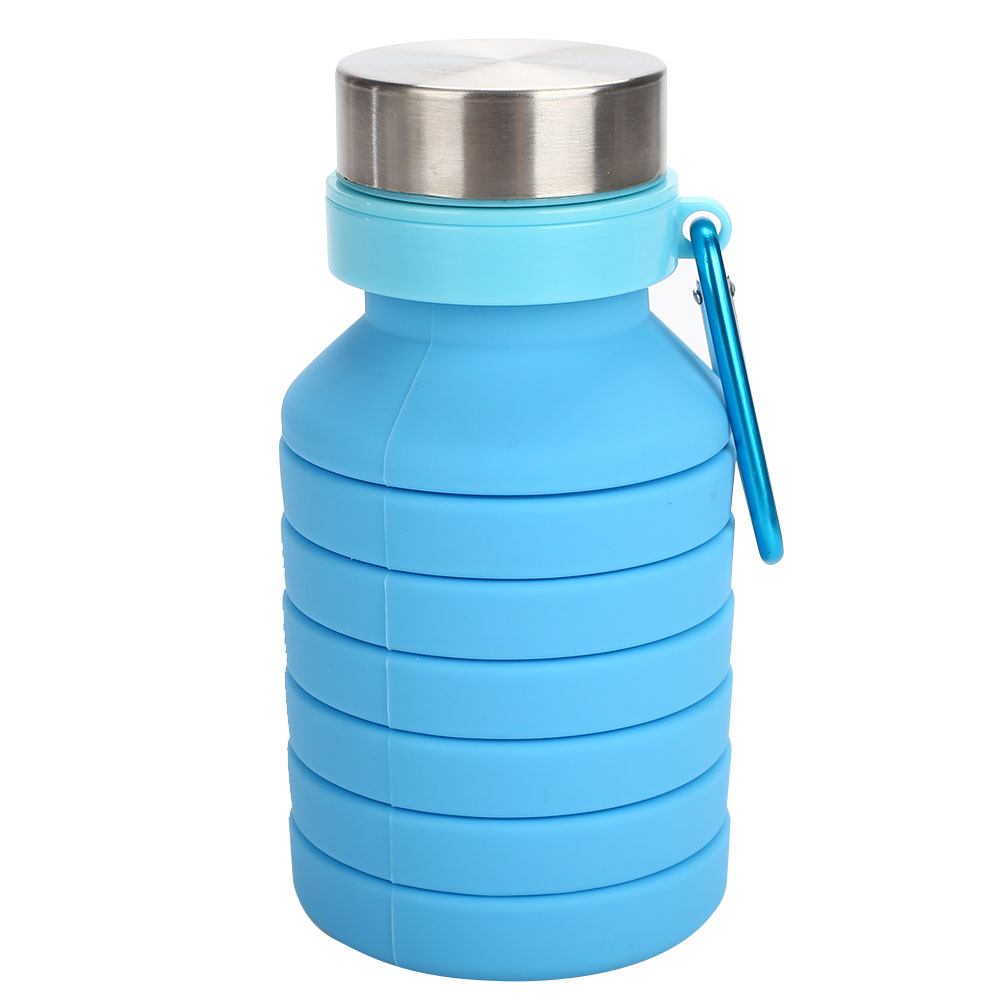 1PCS 550ml Folding Cup Outdoor Travel Folding Silicone Telescopic cup Collapsible Coffee Cup Travel Cup Outdoor kettle