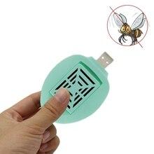 Портативный Электрический Отпугиватель комаров USB автомобильный отпугиватель насекомых анти-ловушка для насекомых детская спальня