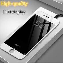 מקורי טוב תצוגת משופץ LCD עבור iPhone 6 6s בתוספת 7 8 5S SE שחור לבן מגע מסך הרכבה החלפה עם כלים