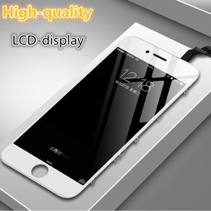 Image 1 - Original Good Display Refurbished LCD For iPhone 6 6s plus 7 8 5S SE Black White Touch Screen Assembly Replacement with Tools