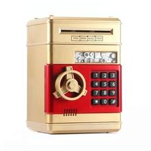 Money-Box Banknote Cash-Coins Piggy-Bank Gift Saving Password Electronic Kids ATM