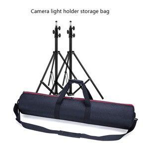 Image 5 - Profesyonel Tripod çantası Monopod kamera çantası omuz taşınabilir Tripod ışık standı paketi Oxford bez çanta fotoğraf saklama çantası