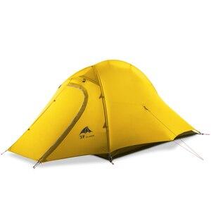Image 2 - 3F UL GETRIEBE ZhengTu 2 Person Ultraleicht Zelt Einzigen 15D Nylon 3 oder 4 Jahreszeiten Im Freien wasserdichte winddicht Camping Zelt