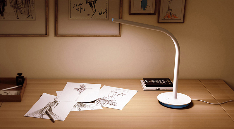 These are Xiaomi and Yeelight desk lamps that accept home automation options