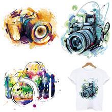 Модные камера полосы термонаклейки для одежды с аппликацией