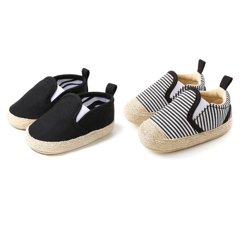 Обувь для маленьких мальчиков, мягкая однотонная обувь с низким вырезом для новорожденных, обувь для детской кроватки