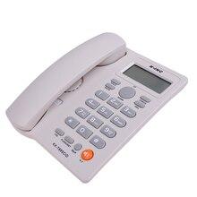 Telefone Home Landline Phone Caller ID Telephone Desktop Corded Dial Back Number Storage for Home Office Hotel Restaurant