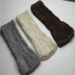 100% bufanda de visón de piel Real bufanda de hierba Dermis bufandas de invierno de mujer más cálida bufanda marrón gris chal mantener caliente chica calidad corta
