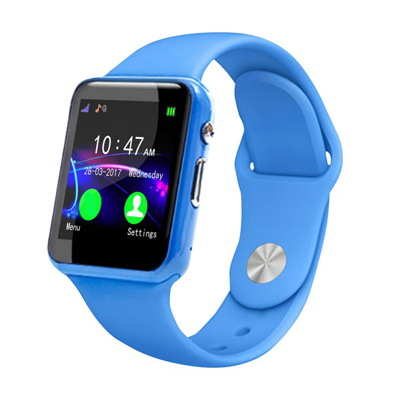 <font><b>U10</b></font> Anti-Lost <font><b>Smartwatch</b></font> Children Kids Smart Wristwatch Activity Tracking Watch(blue) image