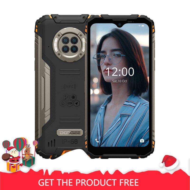 DOOGEE S96 Pro IP68 wodoodporny wytrzymały telefon Helio G90 Octa Core 8GB + 128GB 6350mAh 48MP 20MP widzenie nocne z wykorzystaniem podczerwieni smartfon