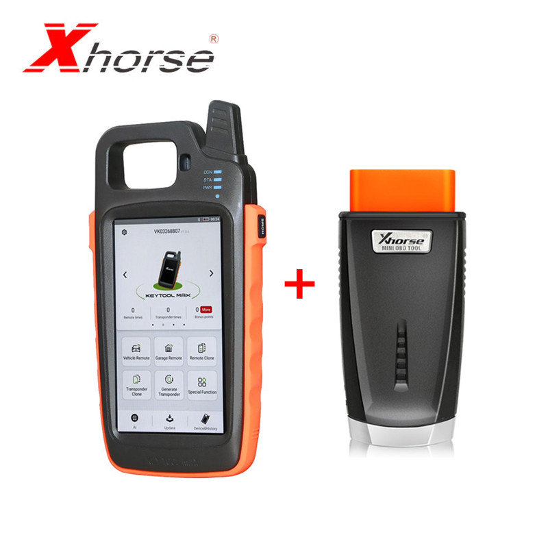 In Stock Xhorse VVDI Key Tool Max Remote And Chip Generator Plus Xhorse VVDI MINI OBD Tool