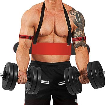 Weight Lifting Arm Blaster Adjustable Aluminum Bodybuilding Bicep Triceps Curl Bomber Arm Muscle Lifting Training Gym Equipment 6