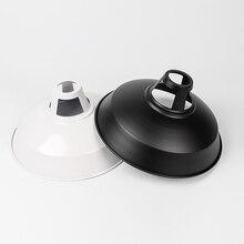 Подвесной светильник, абажур, лампочка, защитный зажим, светодиодный, антикоррозийный, лофт, винтажная форма горшка, Домашний Светильник, лампа для дома, ресторана, абажур