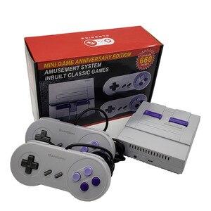 Ретро Супер Классическая игра, Мини ТВ 8 бит, семейный ТВ, видео игровая консоль, встроенный 660 игр, ручной игровой плеер, подарок на день рожд...