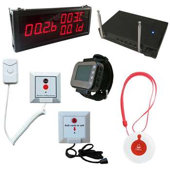 Nurse call system price with Hospital Call Button Emergency Nurse Call Bell LED Panel Watch String pull nurse call syste