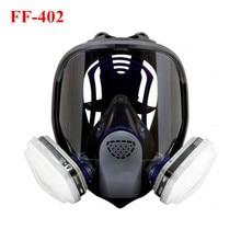 Respirador reusável da máscara completa do último fx FF-402 anti-gás dustproof da pintura à pistola do alcaloide ácido químico anti-sputter