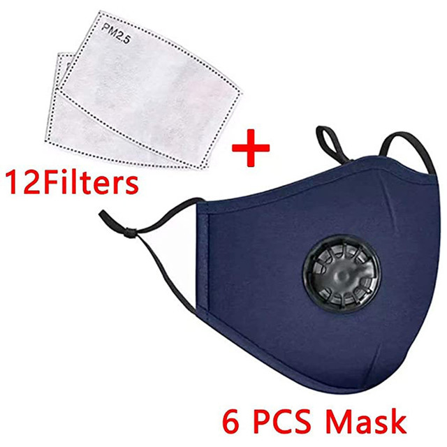6 pcs face care cover and 12pcs fi