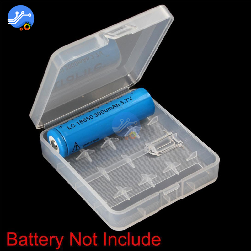 18650 battery holder Hard Plastic 18650 power bank case Container Bag Rechargeable battery case Organizer Box