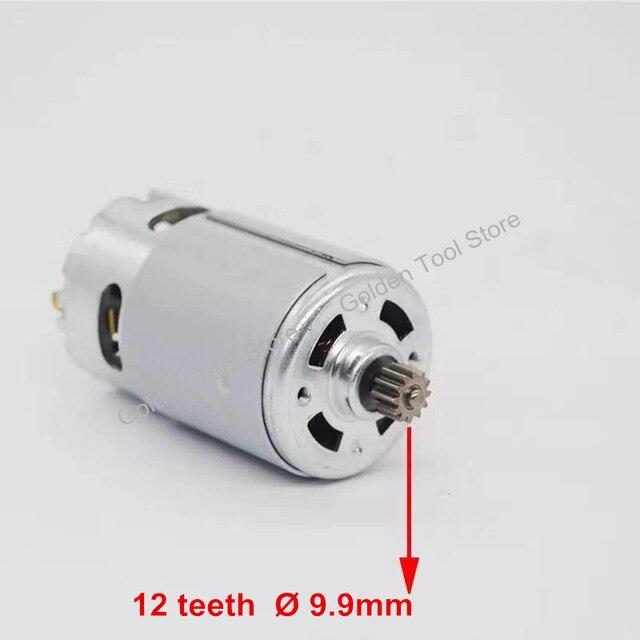 DC Motor 12 teeth replace for BOSCH cordless Drill Screwdriver GSR 7.2V 9.6V 12V 14.4V 16.8V 18V 21V accessories Spare Parts